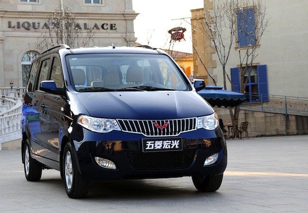 Wuling Hongguang China 2013. Picture courtesy of nextcar.com