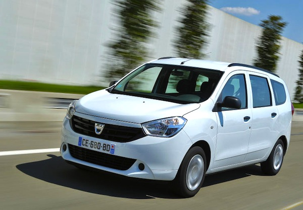Dacia Lodgy France 2013. Picture courtesy of largus.fr