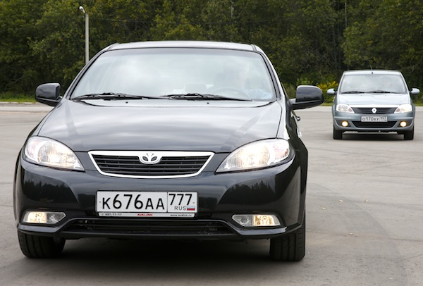 Daewoo Gentra Russia January 2014. Picture courtesy of zr.ru