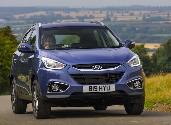 Hyundai ix35 Northern Ireland January 2014