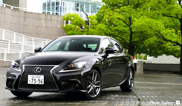 Lexus IS Japan 2013. Picture courtesy of openers.jp