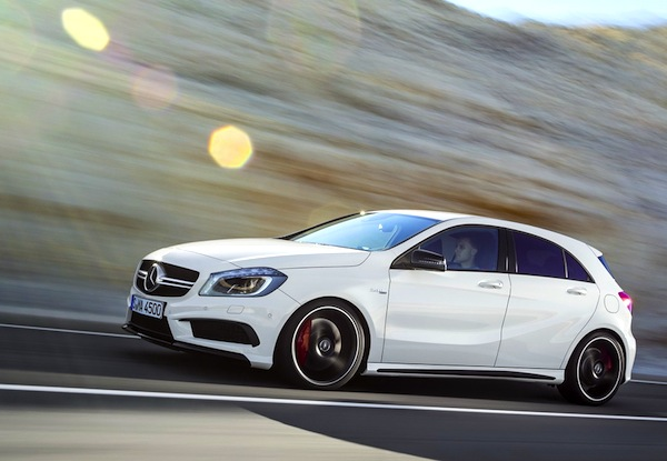 Mercedes A Class Monaco 2013. Picture courtesy of largus.fr