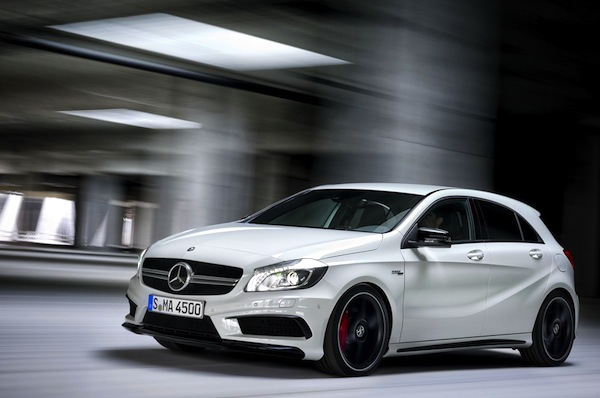 Mercedes A45 AMG. Picture courtesy of largus.fr