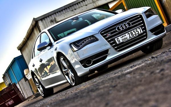 Audi S8 Gulf June 2014. Picture courtesy of motoringme.com