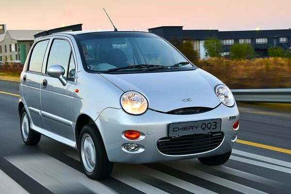 Chery QQ Uruguay 2013. Picture courtesy of autoblog.com.uy