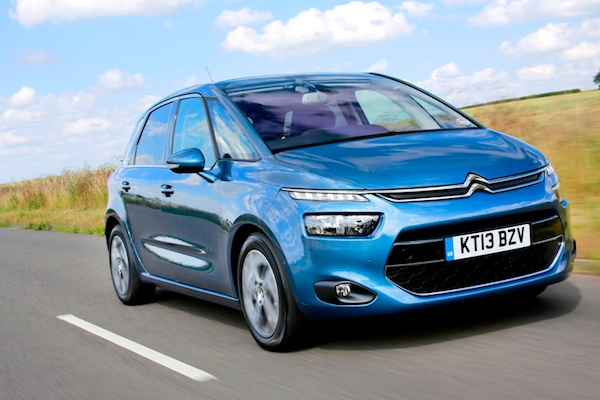 Citroen C4 Picasso Ireland June 2015