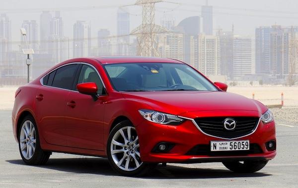 Mazda6 Oman January 2014. Picture courtesy of drivearabia.com