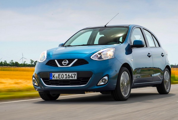 Nissan Micra Greece June 2016. Picture courtesy of largus.fr