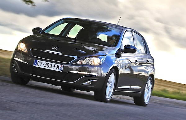 Peugeot 308 France February 2014. Picture courtesy of automobile-magazine.fr