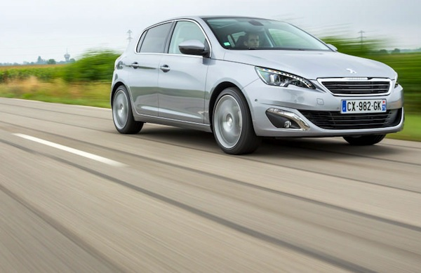 Peugeot 308 France March 2014. Picture courtesy of largus.fr