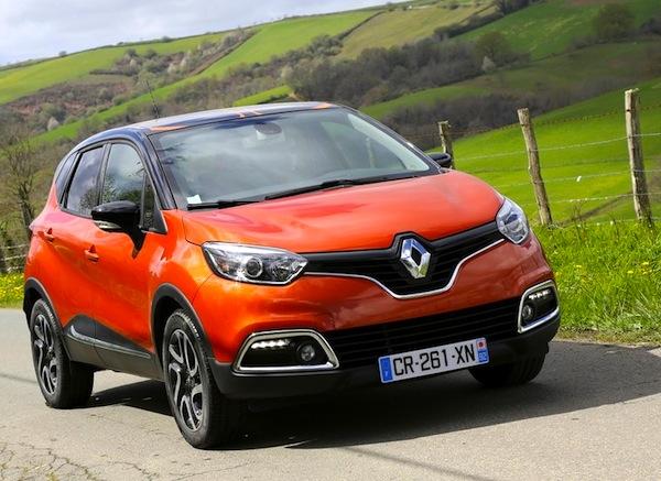 Renault Captur Europe February 2014