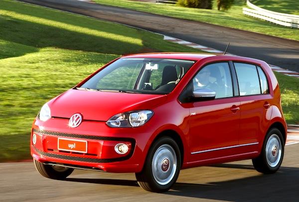 VW Up Brazil February 2014