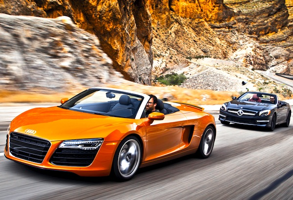 Audi R8 World March 2014. Picture courtesy of motortrend.com