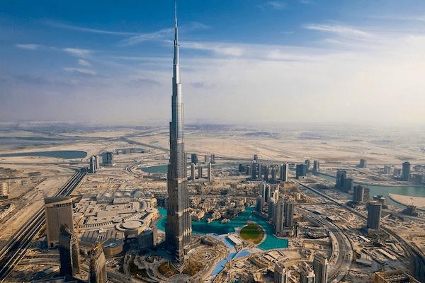 Burj Khalifa Dubai, UAE. Picture courtesy Flickr