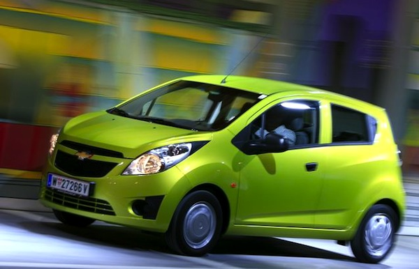 Chevrolet Spark Mexico March 2014. Picture courtesy of automobile-magazine.fr