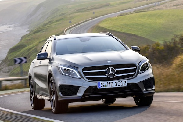 Mercedes GLA Germany July 2014