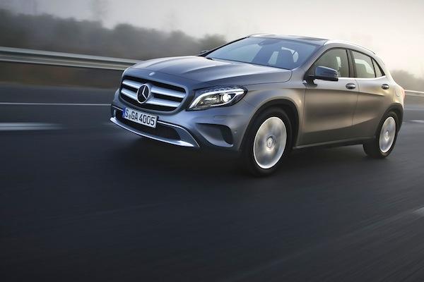 Mercedes GLA France June 2014