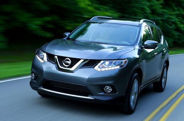 Nissan Rogue USA March 2014. Picture courtesy of motortrend.com