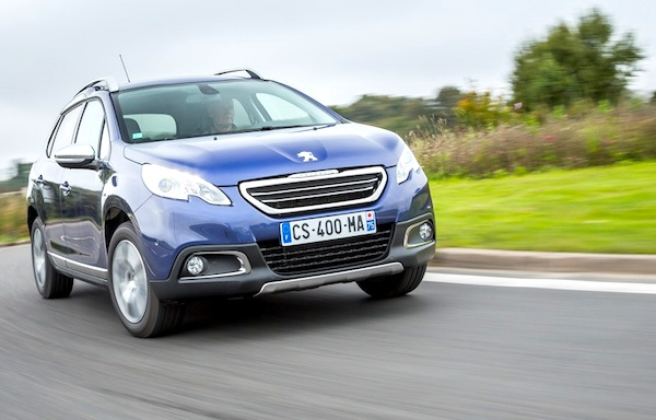 Peugeot 2008 France March 2014. Picture courtesy of largus.fr