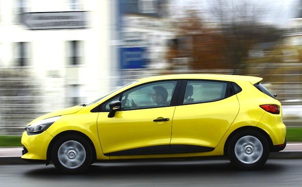 Renault Clio Switzerland June 2014. Picture courtesy automobile-magazine.fr