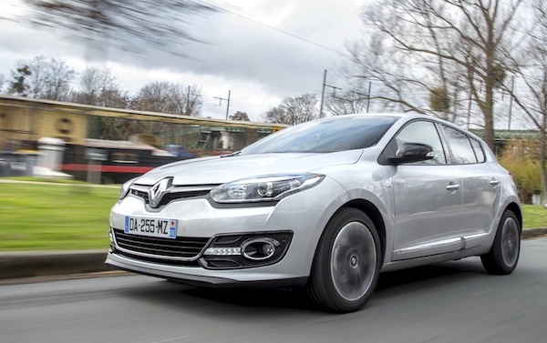 Renault Mégane Spain October 2014. Picture by largus.fr