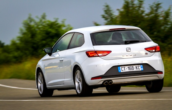 Seat Leon Europe May 2014. Picture courtesy of largus.fr