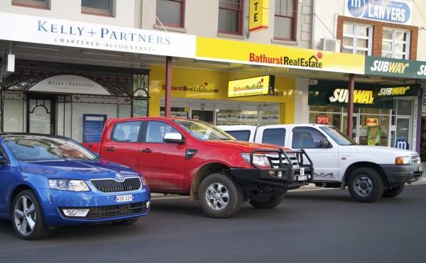 Skoda Octavia Ford Ranger Bathurst