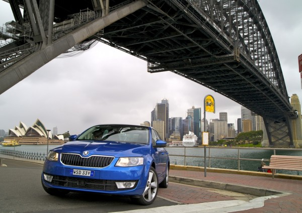 Skoda Octavia Sydney Opera House April 2014