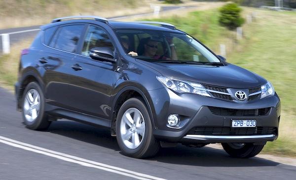 Toyota RAV4 Australia March 2014. Picture courtesy of themotorreport.com.au