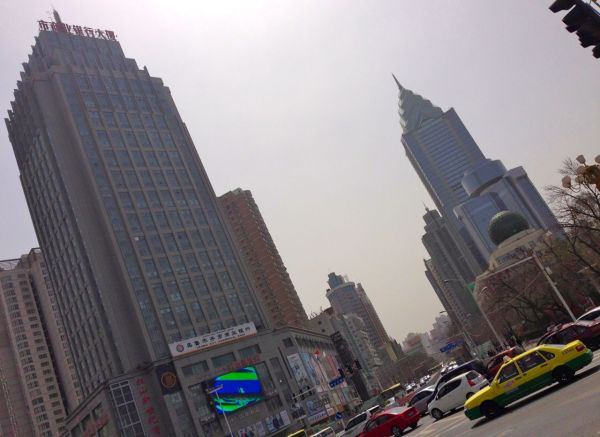 Urumqi Street Scene