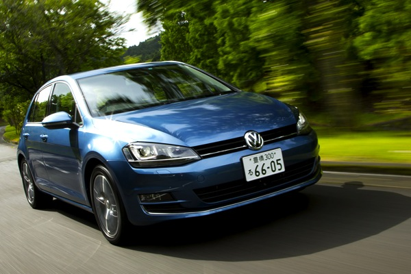 VW Golf Japan March 2014. Picture courtesy of carsensor.jp