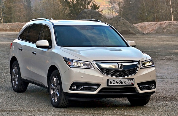 Acura MDX Russia April 2014. Picture courtesy of zr.ru