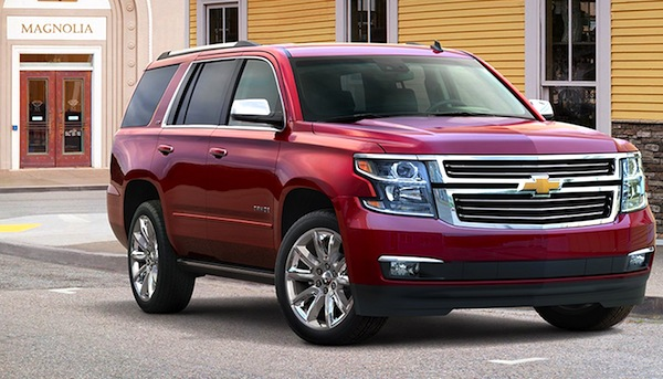 Chevrolet Tahoe Saudi Arabia March 2014