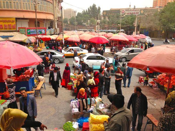 Hotan street scene 2