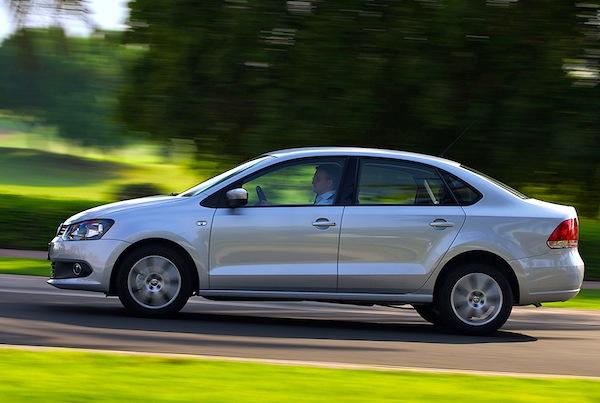 VW Polo Algeria April 2014. Picture courtest of drivearabia.com