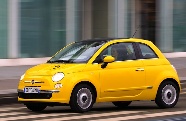 Fiat 500 Spain May 2014. Picture courtesy of automobile-magazine.fr