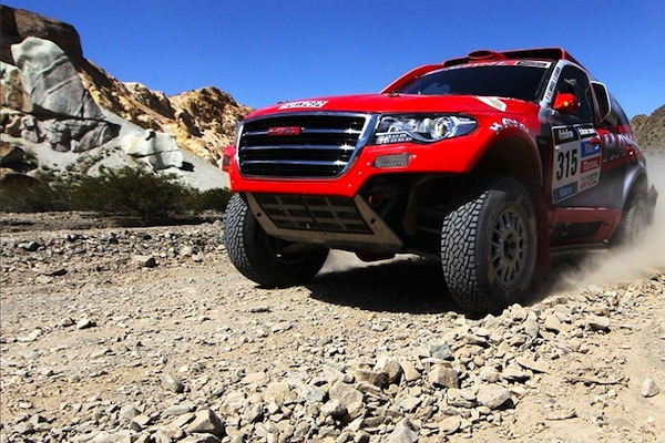 Haval Dakar Rally 2014. Picture courtesy of bitauto