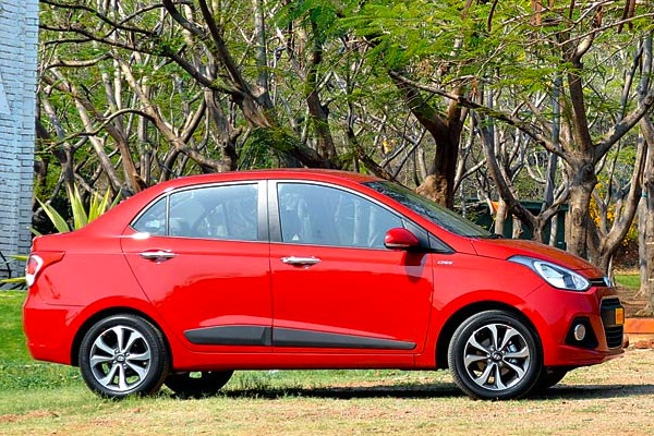 Hyundai Xcent India May 2014. Picture courtesy of mid-day.com