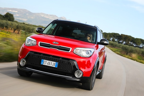 Kia Soul France May 2014. Picture courtesy of largus.fr