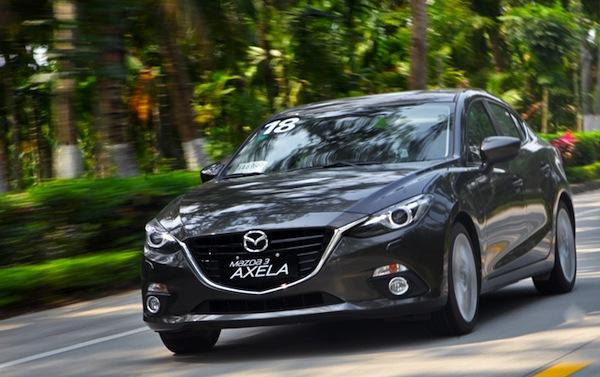 Mazda3 Axela China May 2014. Picture courtesy of auto.163.com