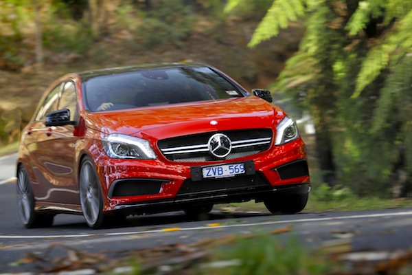 Mercedes A Class Portugal July 2015. Picture courtesy of caradvice.com.au