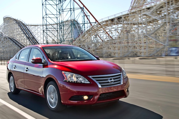 Nissan Sentra USA June 2014. Picture courtesy of motortrend.com