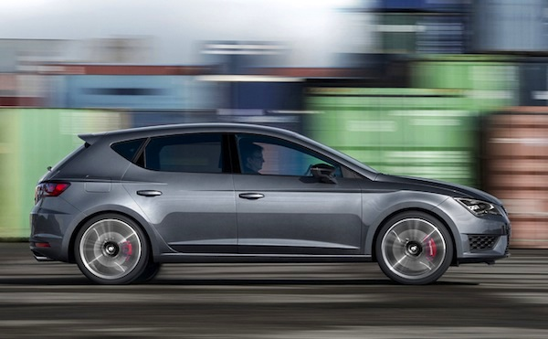 Seat Leon Spain May 2014. Picture courtesy of automobile-magazine.fr