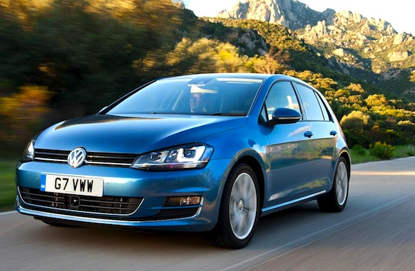 VW Golf UK May 2014