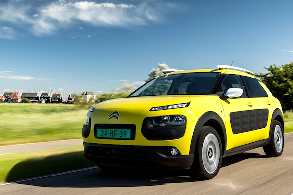 Citroen C4 Cactus Croatia April 2015. Picture courtesy of largus.fr