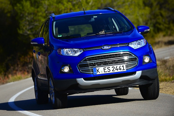 Ford Ecosport Italy June 2014. Picture courtesy of autoexpress.co.uk