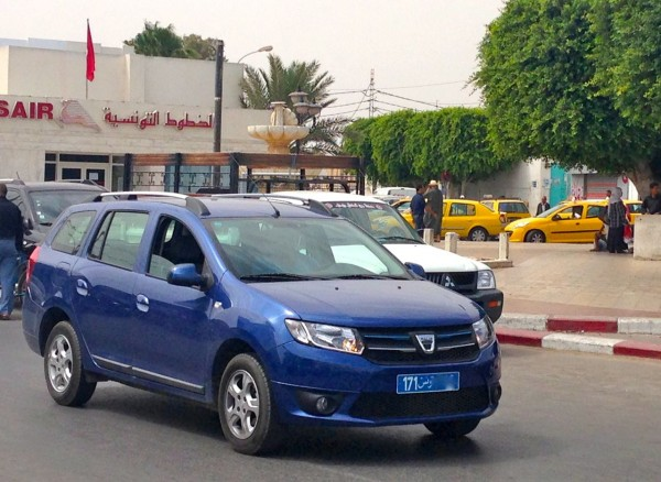 11. Dacia Logan MCV Djerba July 2014