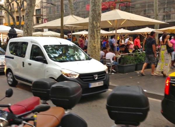 8. Dacia Dokker Barcelona August 2014