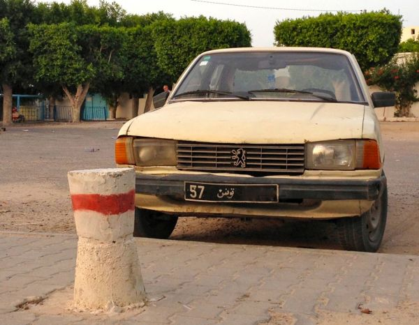9. Peugeot 305 Djerba July 2014
