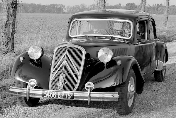 Citroen Traction Avant France 1935